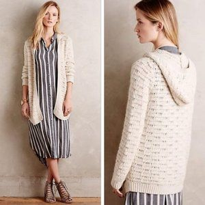 Anthropologie Sleeping on Snow Oarsin Cardigan